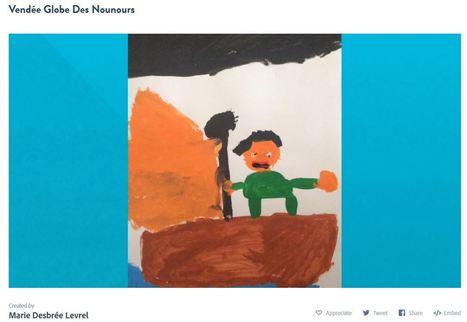 """Quand les élèves de maternelle deviennent """"producteurs"""". Vendée Globe @Les_Nous_Nours   Vie numérique  à l'école - Académie Orléans-Tours   Scoop.it"""