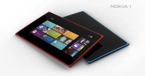 Nokia 1 concept tablet features Windows 8 in a slim design | Technology and Gadgets | Scoop.it