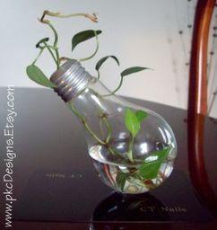 Lightbulb repurpose reuse on Engraved plate - CraftStylish | HTM_DIY - Artesanías | Scoop.it