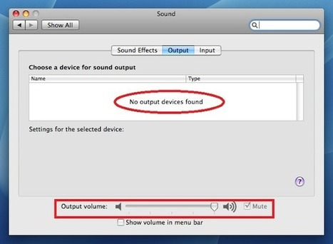 No Sound From Mac' in Apple Mac Support | Scoop it