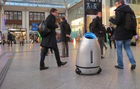 Un robot-poubelle, Gare de Lyon, pour changer le comportement des voyageurs   Plusieurs idées pour la gestion d'une ville comme Namur   Scoop.it