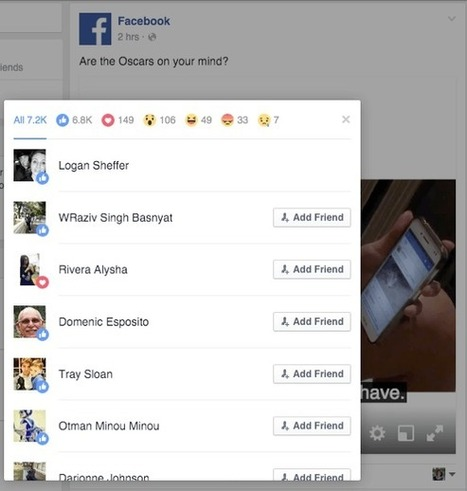 Facebook Reactions: What Marketers Need to Know : Social Media Examiner | In the News of Social Media and Tech | Scoop.it