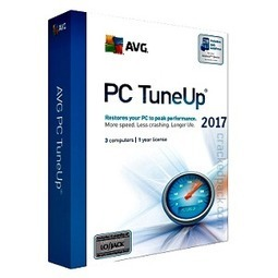 avg pc tuneup 2017 crack only