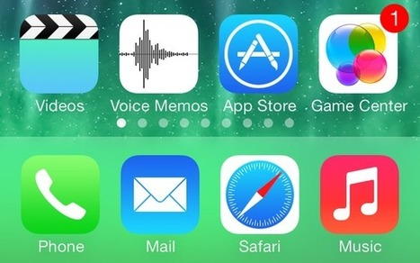 7 Best iOS 7 Features: CNET | Social Marketing Revolution | Scoop.it