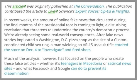 10 Ways to Spot a Fake News Article - EasyBib Blog | Beyond the Stacks | Scoop.it