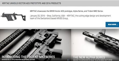 HOT   SHOT Show  16 - KRYTAC ANNOUNCES NEW GUNS - INCLUDING A KRISS AEG V2! a215d4b0807