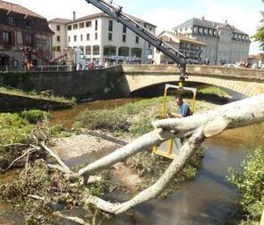 Saint-Céré (46) : La cité panse ses plaies | Autour de Carennac et Magnagues | Scoop.it