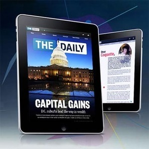The Daily souffle sa première bougie : bilan | IDBOOX | A propos de l'avenir de la presse | Scoop.it