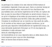 """Denis Robert annonce l'extension du site """"Infodujour"""" aux 22 ...   Kaleidoscope journalism   Scoop.it"""