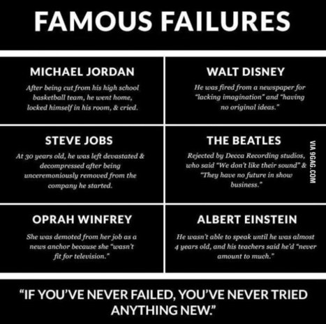 Famous Failures | Interesting - fun facts and more | Scoop.it