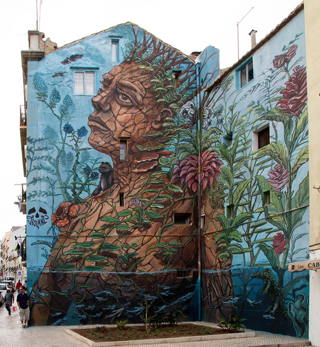 "Violant - ""Gaia"" New Mural — GORGO Magazine 