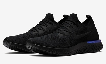 big sale bad9a d1d1d Nike Epic React Flyknit Black Blue -  68.99   nike and adidas sports shoes  online store