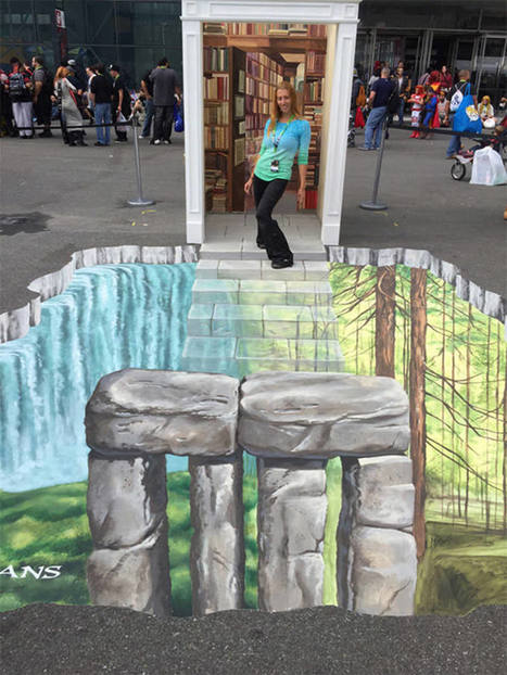 50 Cool 3D Street Art and Murals Around The World | El Mundo del Diseño Gráfico | Scoop.it