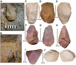 Des outils de pierre témoignent des hommes préhistoriques en Inde | Aux origines | Scoop.it
