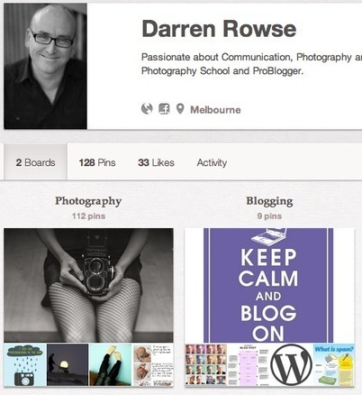 Learnings from My Pinterest Experiment : @ProBlogger   Pinterest for Business   Scoop.it