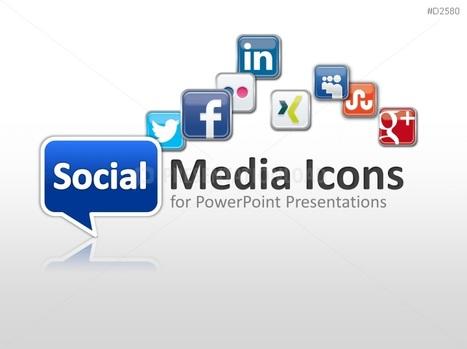 powerpoint templates | scoop.it, Modern powerpoint