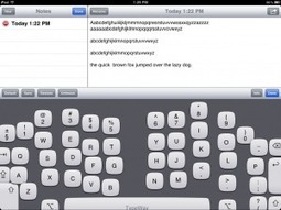 Touch Type on Your iPad!? | Apple Rocks! | Scoop.it