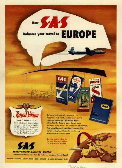 Vintage Airlines and Aircraft Ads of the 1950s (Page 3)   Vintage, Robots, Photos, Pub, Années 50   Scoop.it