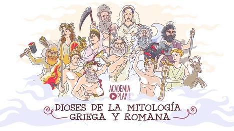 Academia Play - Dioses de la mitología griega y romana... | Facebook | Mitología clásica | Scoop.it