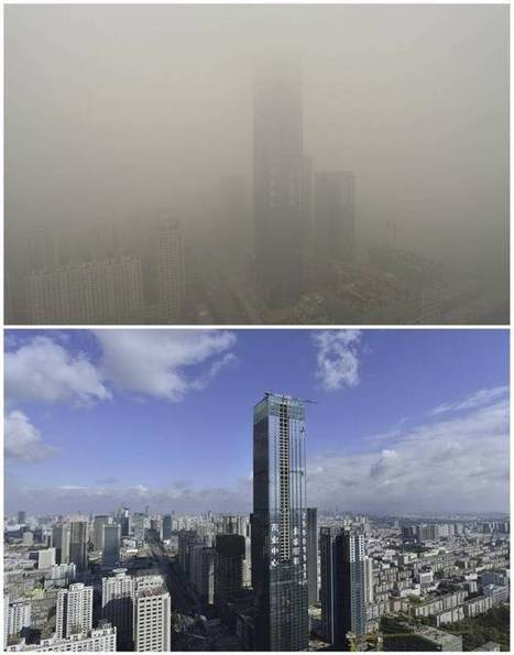 In Pictures: Heavy smog descends on China's northeast | HMHS History | Scoop.it