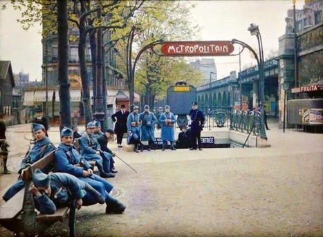 Découvrez le Paris du début du siècle dernier avec des autochromes en couleur | Merveilles - Marvels | Scoop.it