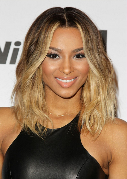 Ciara Shows Off Shoulder Length Hairstyle The