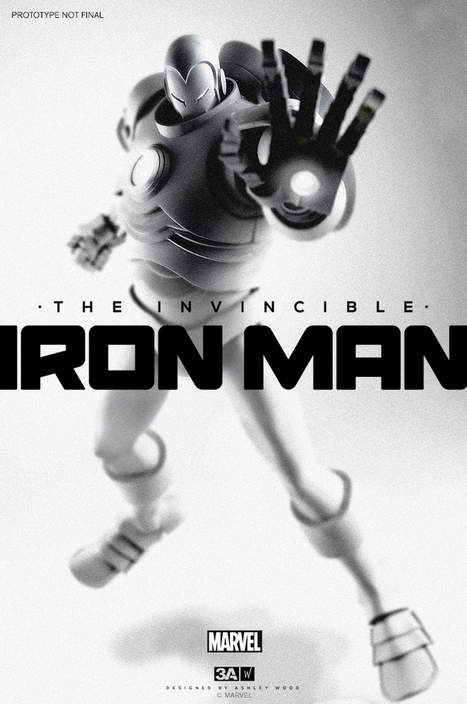 3A Toys – Iron Man Toy | All Geeks | Scoop.it