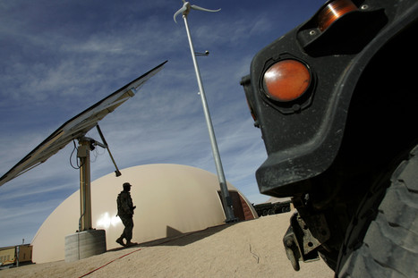 Armed forces see rapid scale rise in renewable energy--is the military the place where leadership will come from? | Business as an Agent of World Benefit | Scoop.it