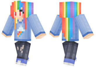 ASCII ART My Little Pony My Little Pony Sc - My little pony skins fur minecraft