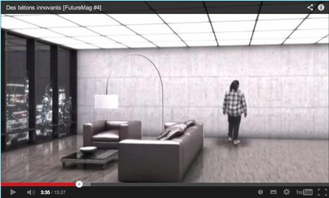 Des bétons INTELLIGENTS (+vidéo) ::: [Furturmag] | The Architecture of the City | Scoop.it