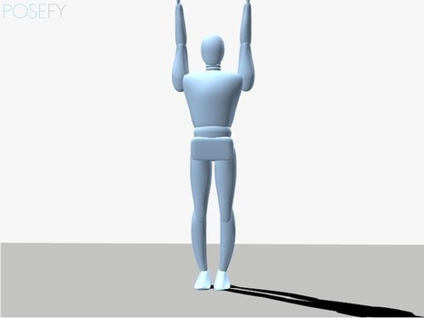 POSEFY - Create, visualize and rate 3D postures | scoop.it Social media -web 2.0 | Scoop.it
