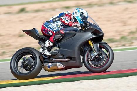 Checa begins Ducati Panigale testing programme at Aragon | BSN | Ductalk Ducati News | Scoop.it