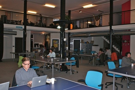 The Best San Francisco Startup Offices For 2011 | Ongig | pariSoma: Coworking & Collaborating | Scoop.it