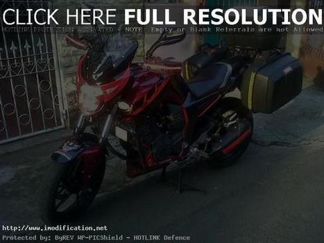 Modifikasi Yamaha Byson Touring Foto Gam