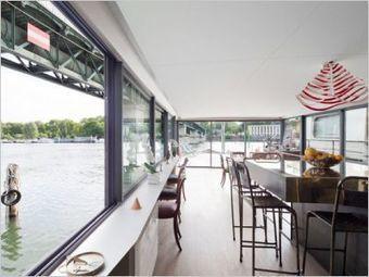 Une péniche avec vue panoramique sur la Seine | Architecture pour tous | Scoop.it