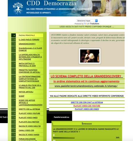 Mappa del sito :: Paolo Ferraro CDD   Paolo Ferraro magistrato CDD   Scoop.it