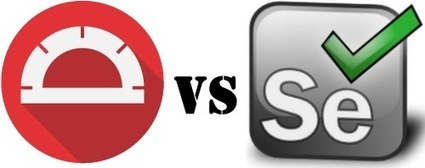 Protractor vs. Selenium: Battle of the Frameworks   angularjs   Scoop.it