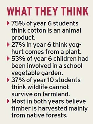 Cultural cringe: schoolchildren can't see the yoghurt for the trees   Humanities: History and Society.   Scoop.it
