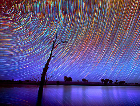 Starry, starry night – outback star trails | Australian Culture | Scoop.it