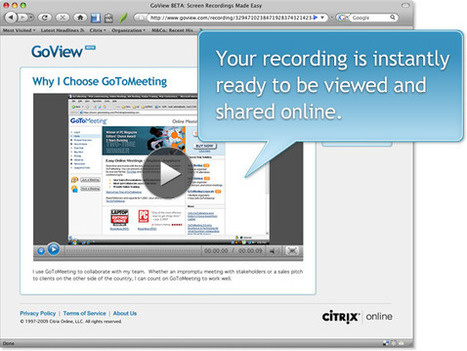 GoView: Screen Recordings Made Easy | How do I use an IPad for the middle school math classroom? | Scoop.it