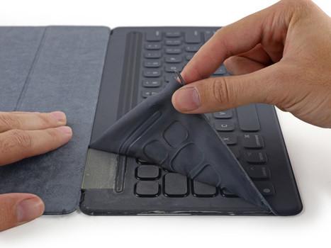 Teardown reveals Apple Smart Keyboard is not repairable — but super durable   Macwidgets..some mac news clips   Scoop.it