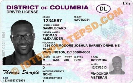 Drivers T dc Of Columbia Psd License District