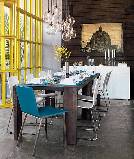 25 Dining Table Centerpiece Ideas | Design | News, E-learning, Architecture of the future at news.arcilook.com | Architecture e-learning | Scoop.it