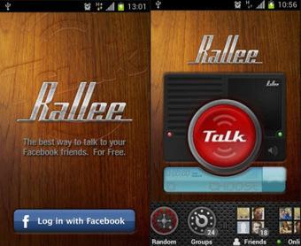 Rallee Walkie Talkie PTT – Enjoy voice Facebook Conversations | AndroidTuition | Scoop.it