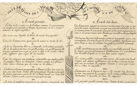 Déclaration des droits de l'homme et du citoyen 1789 - Bibliothèque numérique mondiale | Bibliothèques | Scoop.it