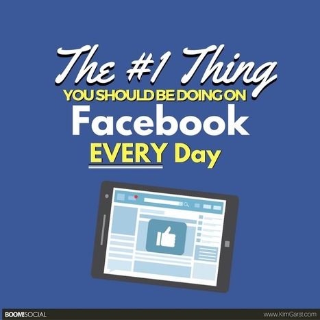 The #1 Thing You Should Be Doing on Facebook EVERY Day | Surviving Social Chaos | Scoop.it