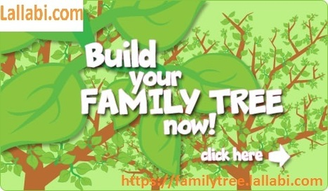 make family tree online in lallabi scoop it