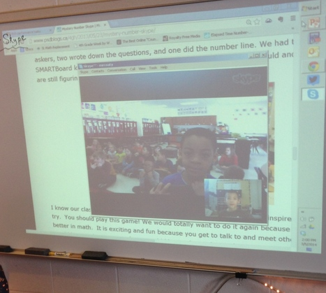 Math and Mystery Number Skypes | Math with #numberschat | Scoop.it