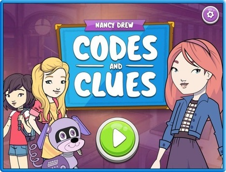 Nancy Drew learns to code: New mobile game focuses on coding for a younger crowd - GeekWire | Jogos educativos digitais e Gamificação | Scoop.it