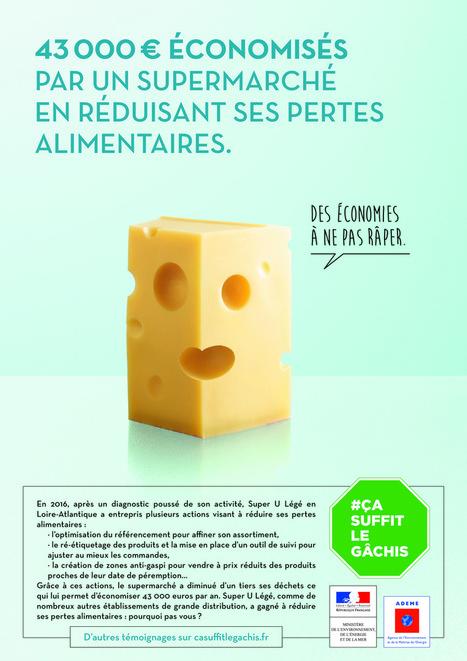 #Ça suffit le gâchis ! L'ADEME et le Ministère de l'Environnement repartent en campagne contre le gaspillage alimentaire - Communication (Agro)alimentaire | Communication Agroalimentaire | Scoop.it